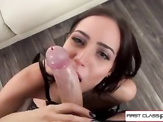 Desiree Night suck and stroke you until you cum all over that pretty face